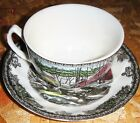Johnson Brothers Friendly Village Fine Porcelain Coffee Tea Cup Saucer Plate