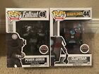FUNKO POP FALLOUT POWER ARMOR and BORDERLANDS CLAPTRAP GAMESTOP EXCLUSIVE!!!