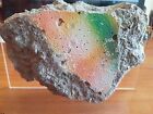 ORIGINAL VERY LARGE 15 cm PIECE of the BERLIN WALL on PERSPEX DISPLAY + COA