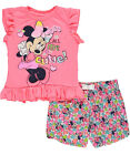 Minnie Mouse Little Girls Toddler Just Call Me Cutie 2 Piece Outfit