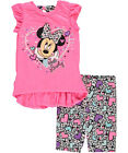 Minnie Mouse Little Girls Toddler Just Lovely 2 Piece Outfit Sizes 2T 4T