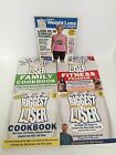 Lot of 5 THE BIGGEST LOSER Books Weight Loss Family Cookbook Healthy FREE SHIP