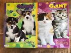 Coloring  Activity Giant Books Set Dog  Cat Bendon Tear  Share Pages