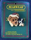 NOS ~ 1995 Boyd's Bears Bearwear Pin #26008 ~ Northrup & the Pup ~ Christmas