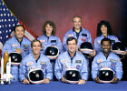 Official Portrait of the Crew of NASA Space Shuttle Challenger Mission 51 L