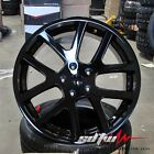 22 Dodge Challenger Charger Magnum 300c Viper Style Rims Gloss Black Wheels