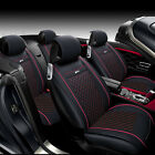 Car Interior Protector Seat Cover Chair PU Leather Cushion For Universal 5-seats