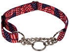 10 Country Brook Design Half Check Dog Collars Various Designs Available