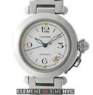 Cartier Pasha C Stainless Steel 35mm White Dial Automatic W31074M7