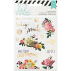 Heidi Swapp Memory Planner Clear Stickers Floral