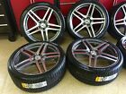 MERCEDES 20 IN S65 GUNMETAL RIMS NEW FITS S550 CL550 AMG