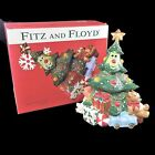 NIB Fitz And Floyd Essentials Wee Christmas Tree Cookie Jar