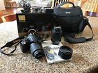 Nikon D5000 123 MP Digital SLR Camera Black Kit w AF S DX VR 18 55mm Lens