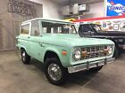 1971 Ford Bronco 302 1971 Ford Bronco 302 3 Speed Factory AC RUST FREE