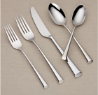 Flatware Set Bistro Cafe 5-piece Stainless Place Setting Spoon Fork Butter Knife