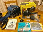 Nikon D50 61 MP Digital SLR Camera Black Body Only + Accessories