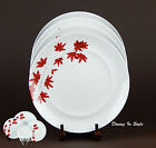 Mikasa, Pure Red, Set of 2 Dinner Plates, SUPERB Condition! Portugal, SL134