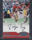 ROGER CRAIG 2016 PLATES & PATCHES UPPER ECHELON 49ERS ON CARD AUTO #D 19 99