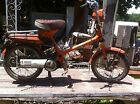 VTG 1977 Honda Motor Express 49cc Two Stroke Scooter orange