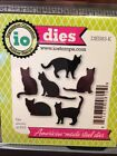 Impression Obsession CATS thin metal die set kittens