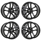 20x10 20x11 CAMARO ZL1 BLACK WHEELS RIMS FACTORY OEM SET 4 5547 5548 EXCHANGE