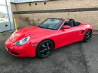 LARGER PHOTOS: Gorgeous 1998 Red Porsche Boxster Tiptronic S 1 Years MOT Excellent Example