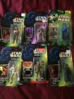 LOT OF 6 STAR WARS COLLECTION ACTION FIGURES