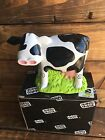 NIB Happy House Black& White Cow Bank: Character Collectibles HHMB-001