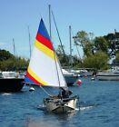 Sail kit for Porta Bote with Clamp on Rudder and 55 SF Sail