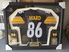 Sweet Framed Matted HINES WARD Autograph Signed Pittsburgh Steelers COA SWEET