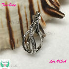 Twister Rainy Drop Pearl Cage Pendant Silver Plated Fit Up To 8mm Fun Gift