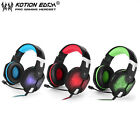 EACH G1000 PC Gaming Bass Stereo Headset Microphone LED Light Laptop Computer XP