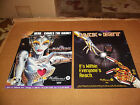 Jack Bot and Bride of Pinbot Williams Pinball Flyer Plus Pin Bot Stickers 4 Item
