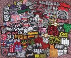 Wholesale Random Band Badge Iron on Patch Sew Rock Heavy Metal Music toppe toppa