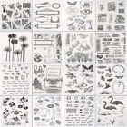 Transparent Clear Stamp DIY Silicone Seals Scrapbooking Photo Card Making Crafts