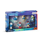 Smurfs Movie Collectors Pack Exclusive Set of 6 Figures - Schleich Hand-Painted