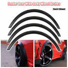Universal 4pcs PP 2 50mm Fender Flares JDM Over Wide Body Wheel Arches