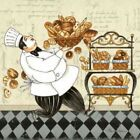 Chef Bread Poster Print by Pamela Gladding (12 x 12)