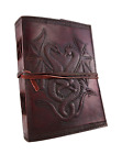 Sketch Book Paper Sheets Art Supply Drawing Notebook Leather Dragon Leaf Journal