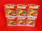 6 Fram PH3614 Extra Guard engine oil filters High Quality 3 times protection
