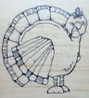 NEW DJ INKERS THE GOBBLER CHUBBY THANKSGIVING TURKEY N53 93 99 RUBBER STAMP