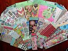 HUGE NEW LOT KCOMPANY 12x12 PAPER PADS DIE CUTS  BORDERS STICKERS 1000+ IMAGES