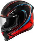 Icon 0101 8712 Airframe Pro Carb Glory Helmet Md Black Blue Red