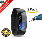 Screen Protector FULL COVERAGE For Samsung Gear Fit 2 Anti Bubble Ultra HD Film