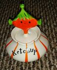 Vintage Retro 1950s Holt Howard Pixie Ketchup Jar