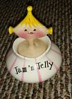 Vintage Retro 1950s Holt Howard Pixie Jam And Jelly Jar