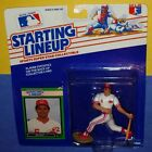 1989 BO DIAZ Cincinnati Reds Rookie -low s/h- sole Starting Lineup clear bubble!