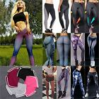 Women Yoga Workout Sports Leggings Fitness Casual Gym Plus Size Stretch Trousers