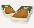 Pyramid STAINED CORNHOLE BOARDS GAME SET Bean Bag Toss + 8 ACA Regulation Bags