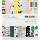American Crafts Single Sided Paper Pad 6X6 36 Pkg Shimelle Little By Little